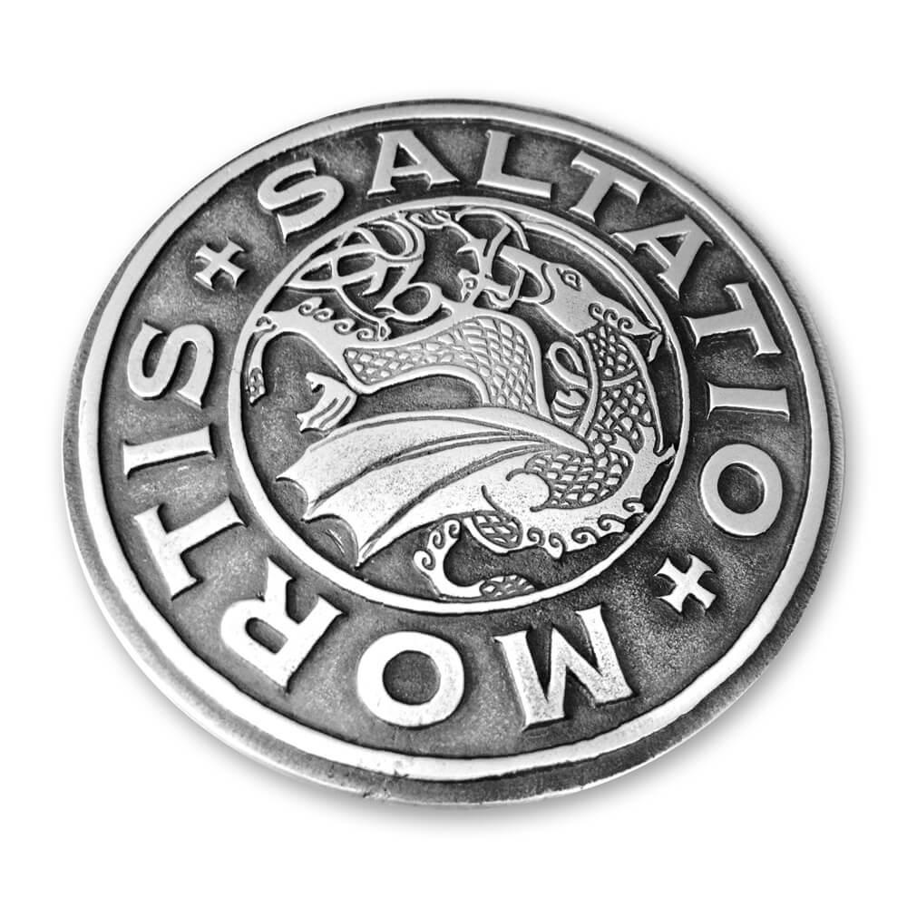Logo von Saltatio Mortis - Gürtelschnalle jetzt im Saltatio Mortis Shop