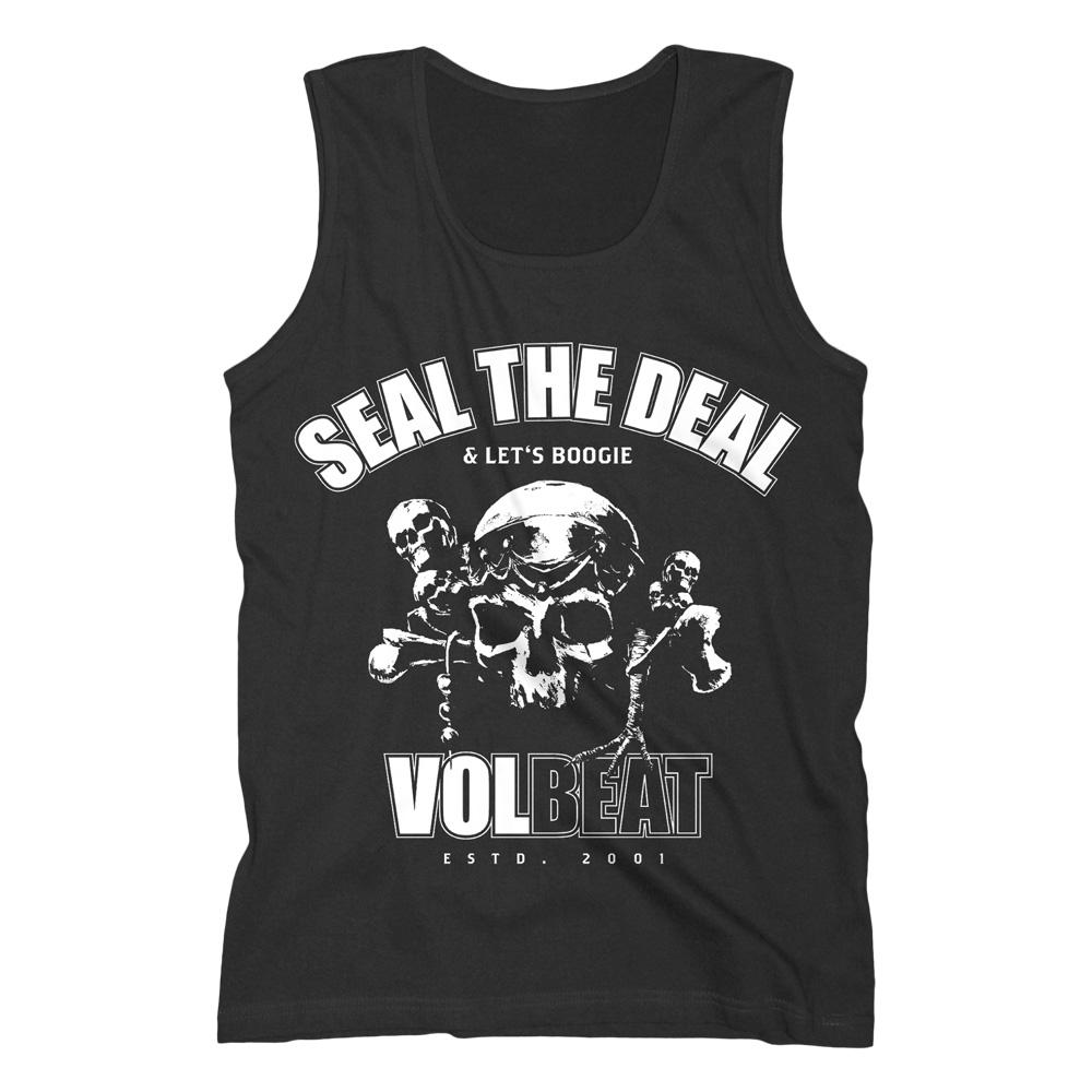 √Seal The Deal Skull von Volbeat - 100% cotton jetzt im Volbeat Shop