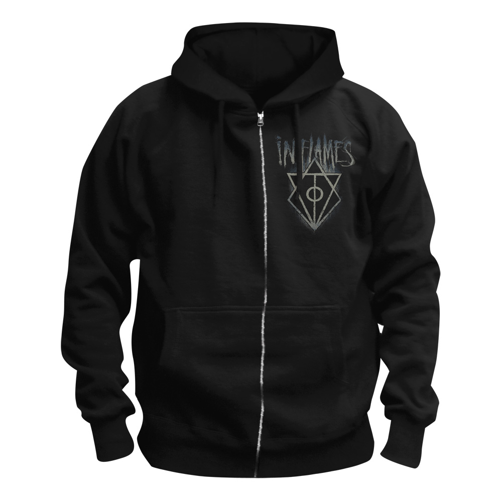 √Hooked Jesterhead von In Flames - Hooded jacket jetzt im In Flames Shop