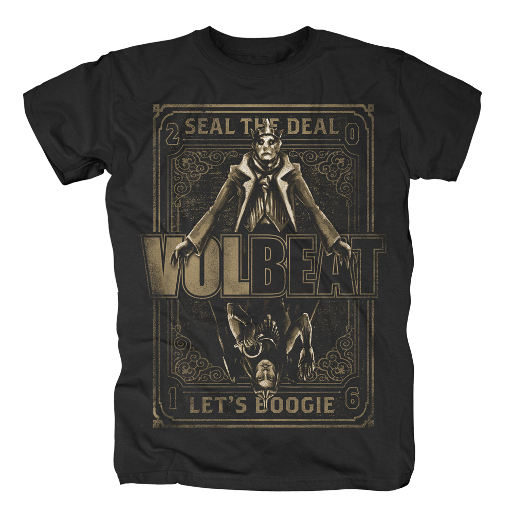 √King vs Ishtar von Volbeat - T-shirt jetzt im Volbeat Shop