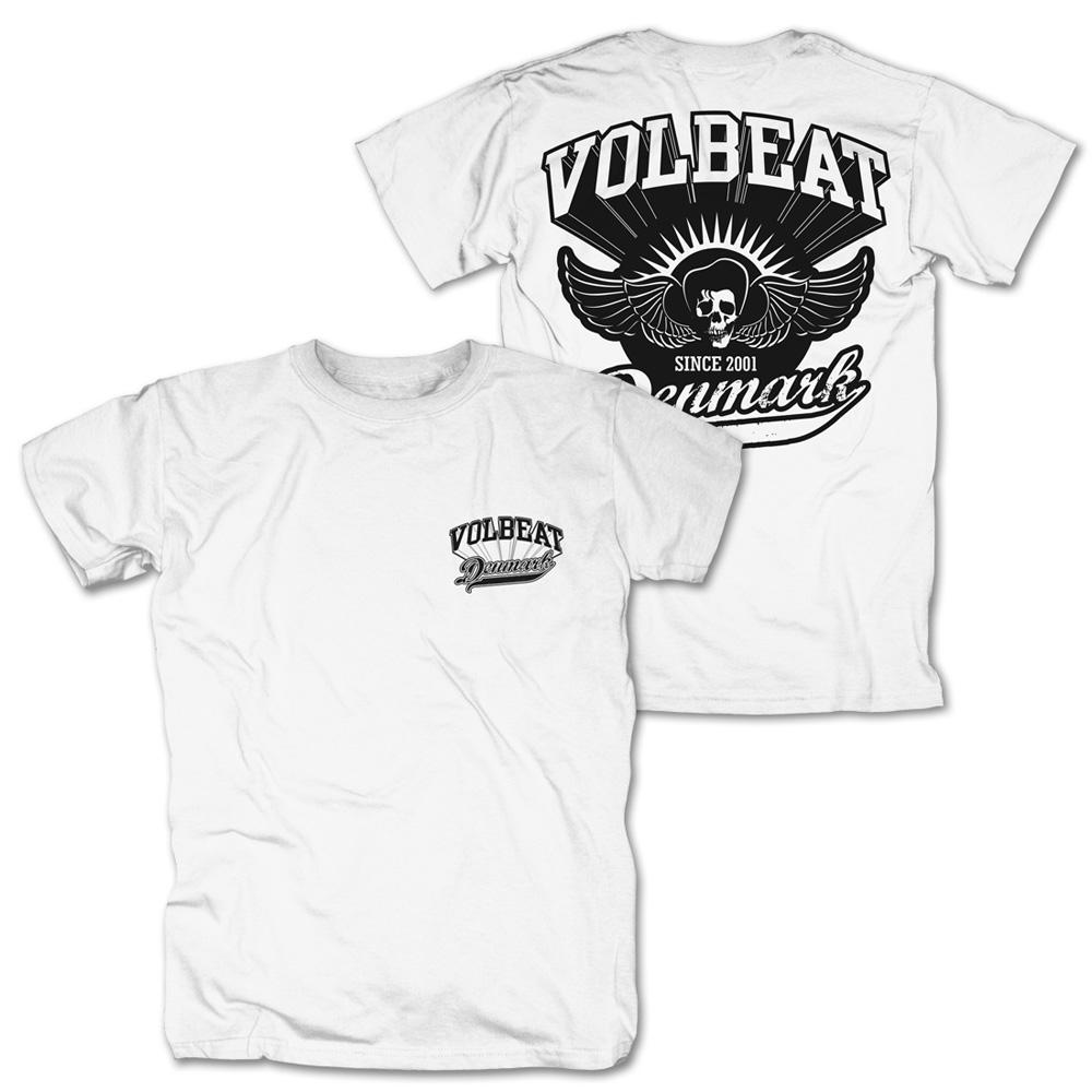 √Rise From Denmark von Volbeat - 100% cotton jetzt im Volbeat Shop