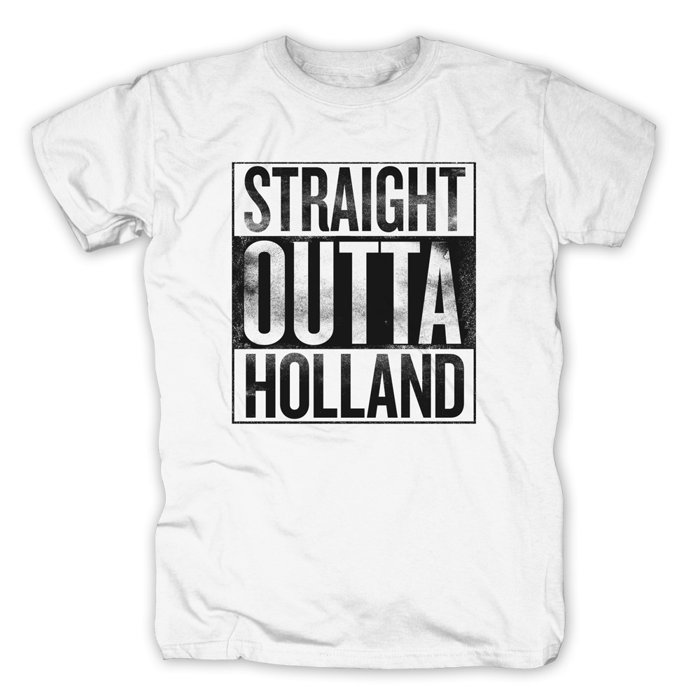 Straight Outta Holland von 257ers - T-Shirt jetzt im Selfmade Records Shop