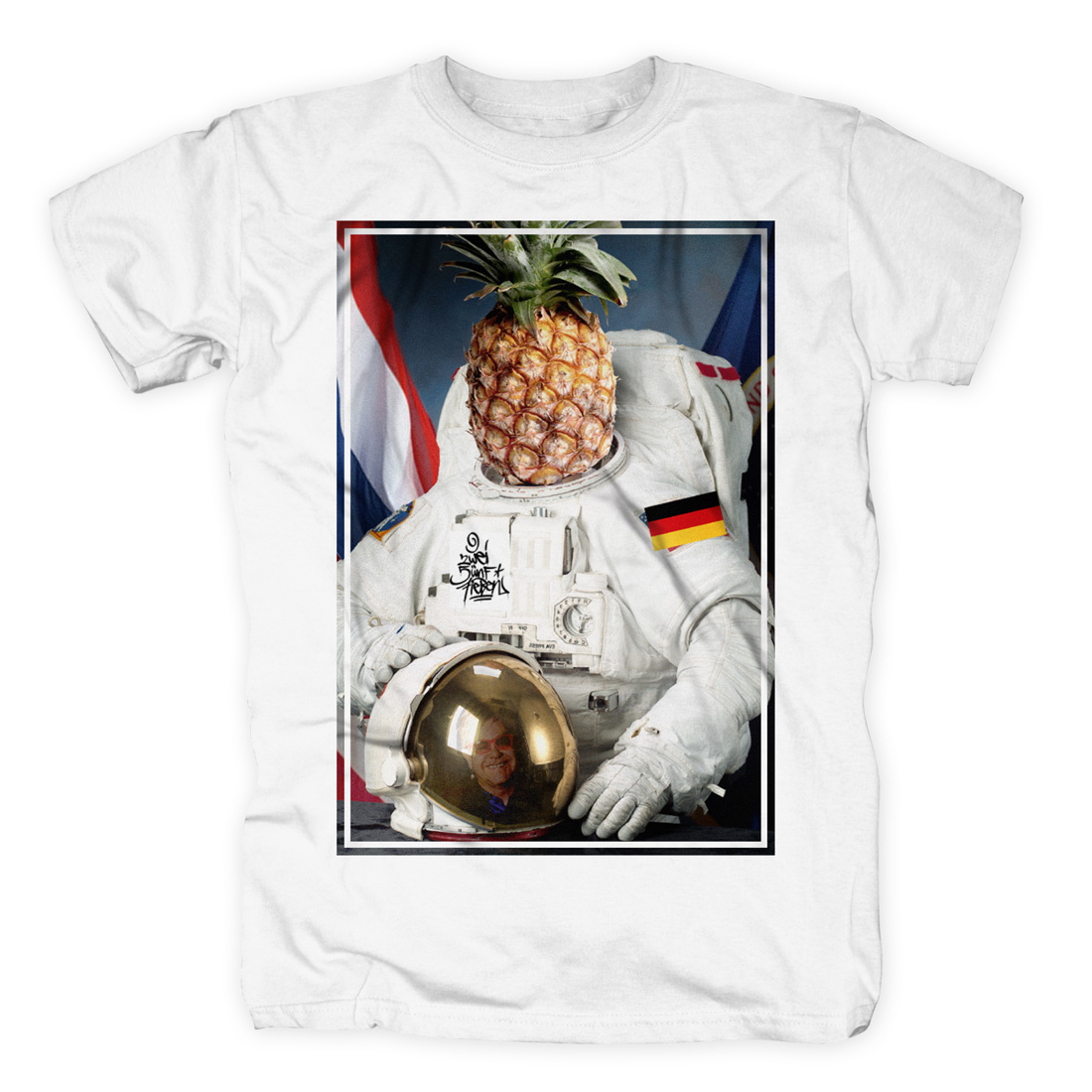Captain Spaceapple von 257ers - T-Shirt jetzt im Selfmade Records Shop