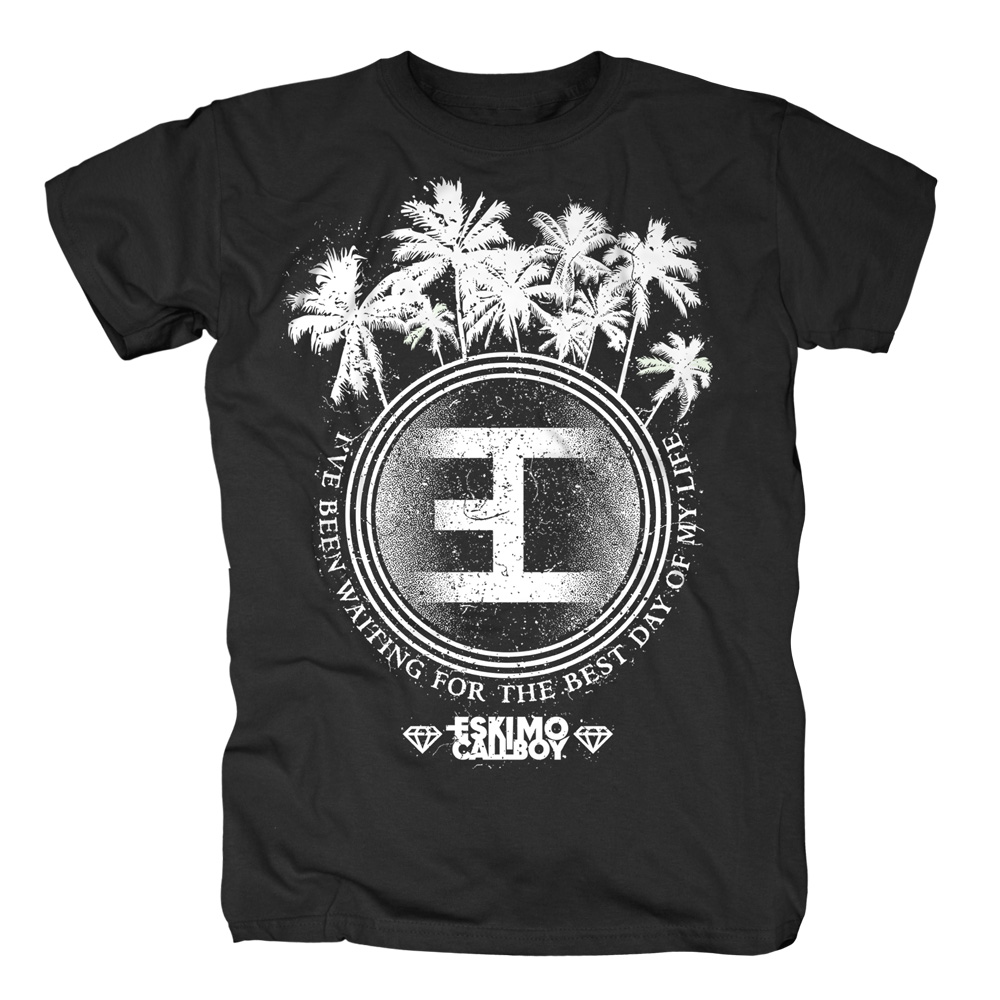 Palm Tree Logo von Eskimo Callboy - T-Shirt jetzt im Eskimo Callboy Shop