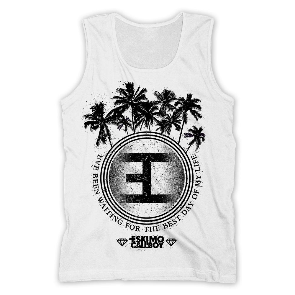 Palm Tree Logo von Eskimo Callboy - Men's Tank Top jetzt im Eskimo Callboy Shop