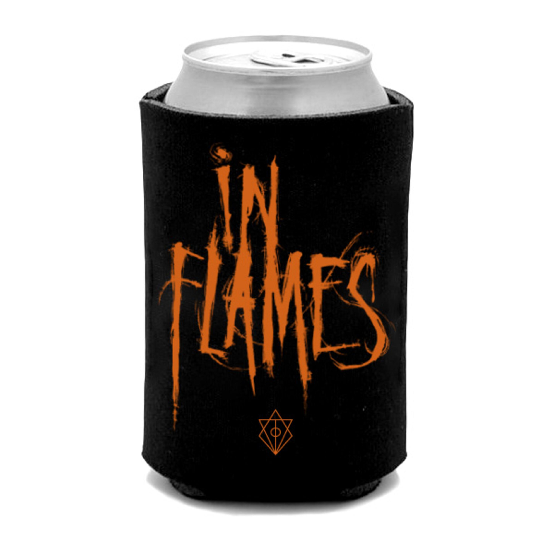 √Orange Logo von In Flames - polyester jetzt im In Flames Shop