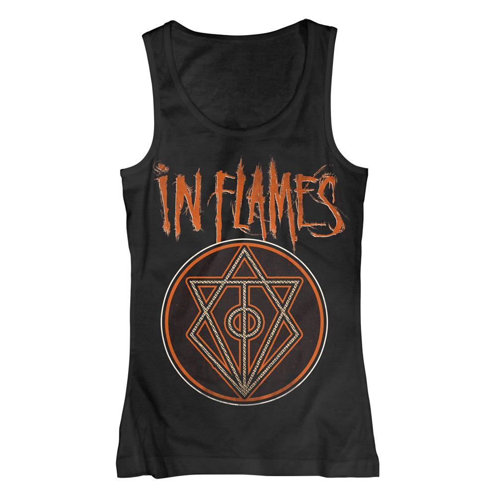 √Vintage Circle von In Flames - Girlie Tank Top jetzt im In Flames Shop