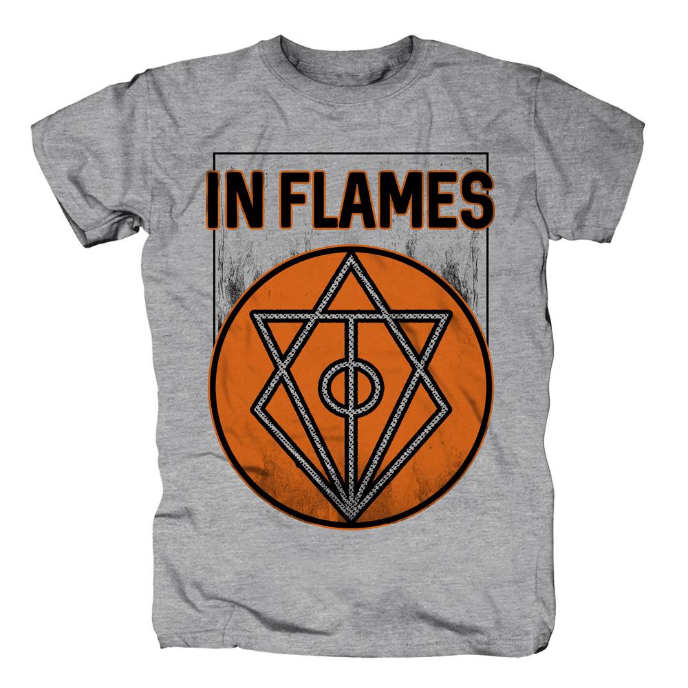 √Vintage Circle Filled von In Flames - T-shirt jetzt im In Flames Shop