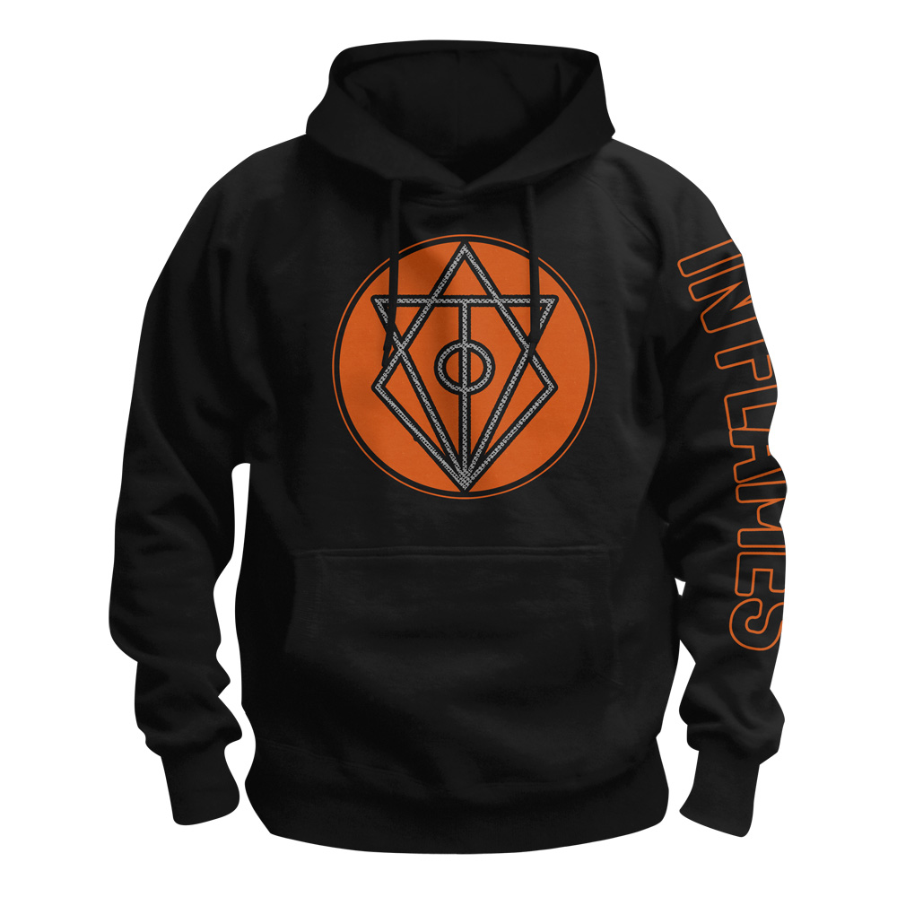 √Circle Filled von In Flames - Hood sweater jetzt im In Flames Shop