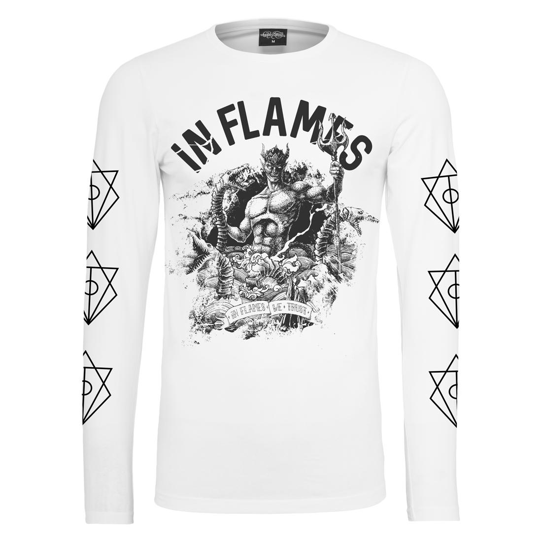 √Aquarius Printed Sleeve von In Flames - Longsleeve jetzt im In Flames Shop