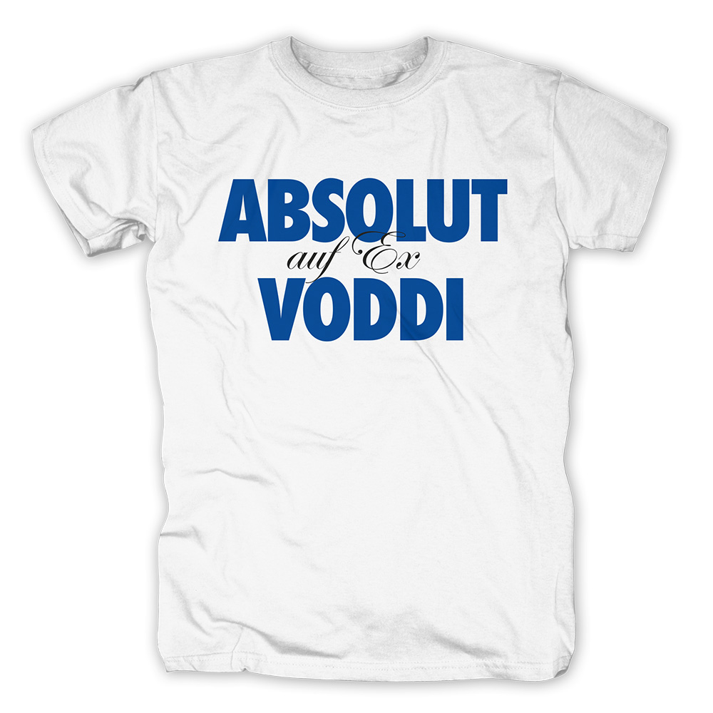 Voddi auf Ex von 257ers - T-Shirt jetzt im Selfmade Records Shop