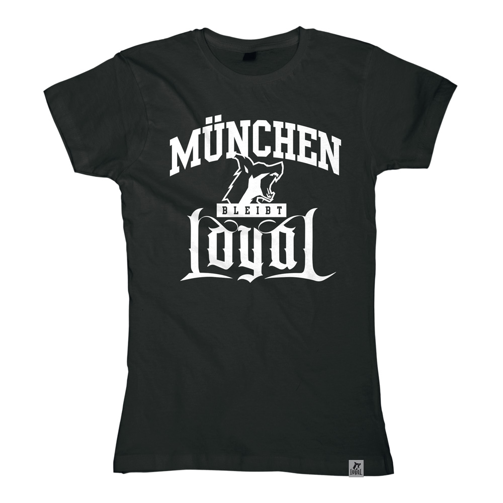 München bleibt Loyal von Kontra K - Girlie Shirt jetzt im Bravado Shop