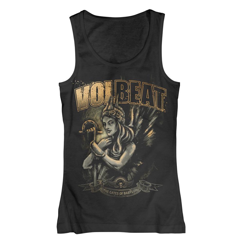 √The Gates of Babylon von Volbeat - Girlie top jetzt im Volbeat Shop