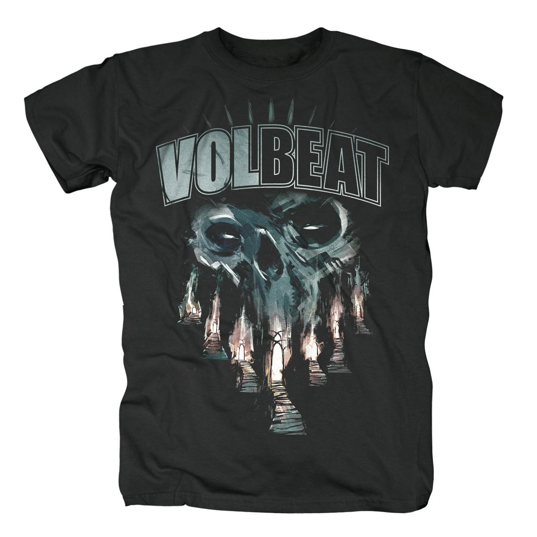 √Skull Gates von Volbeat - 100% cotton jetzt im Volbeat Shop