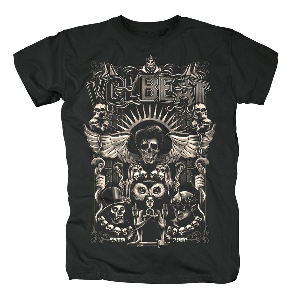 √Character Collage von Volbeat - T-shirt jetzt im Volbeat Shop
