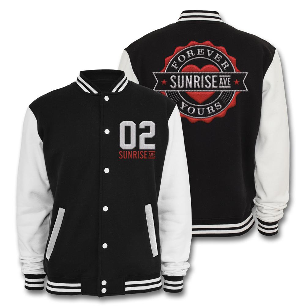 Forever Yours Emblem von Sunrise Avenue - College Jacke jetzt im Bravado Shop