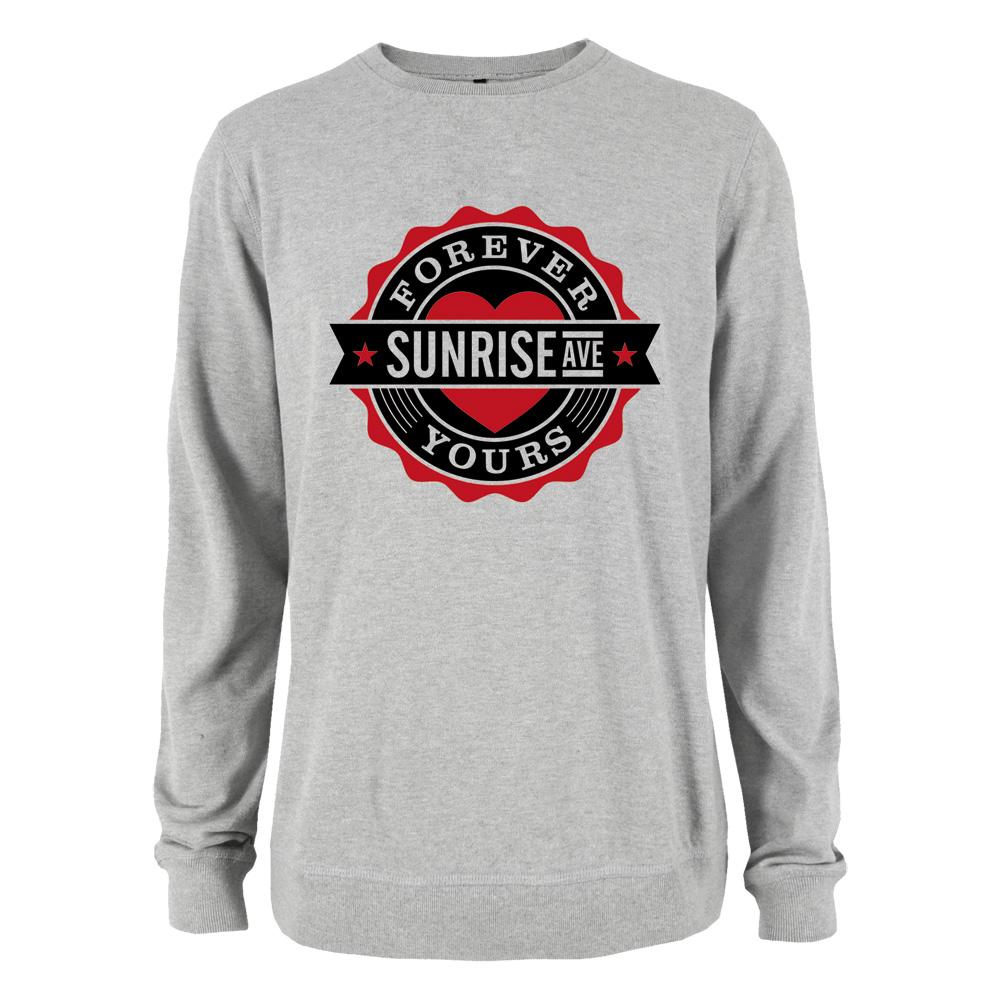 Bravado forever yours emblem sunrise avenue girlie sweater boyfriend style merch - Forever yours sunrise avenue ...