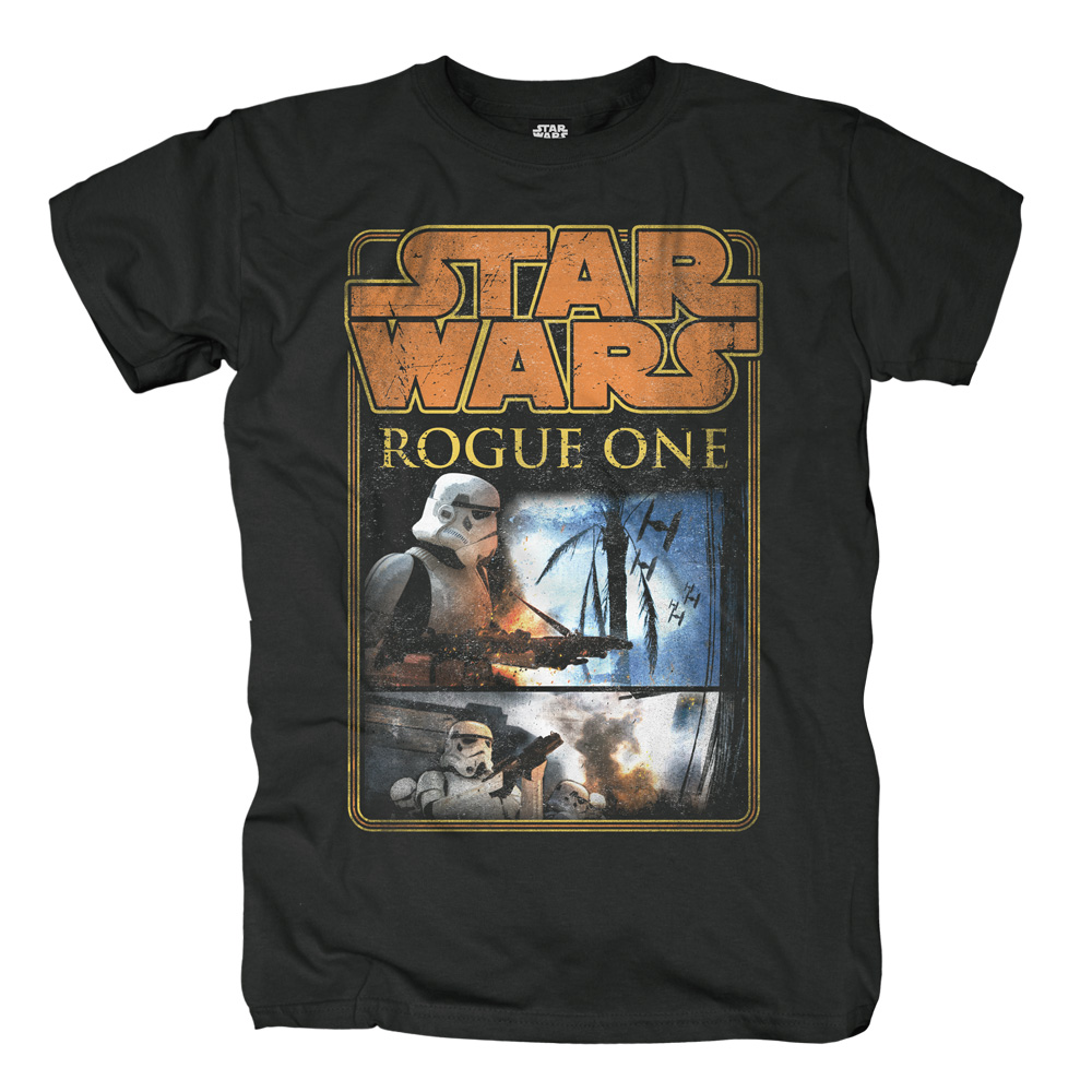 Trooper Defense von Star Wars - T-Shirt jetzt im SuperTees Shop