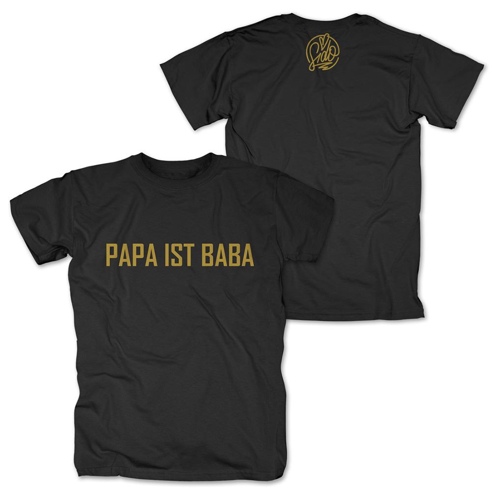 Papa ist Baba von Sido - T-Shirt jetzt im Sido Official Shop