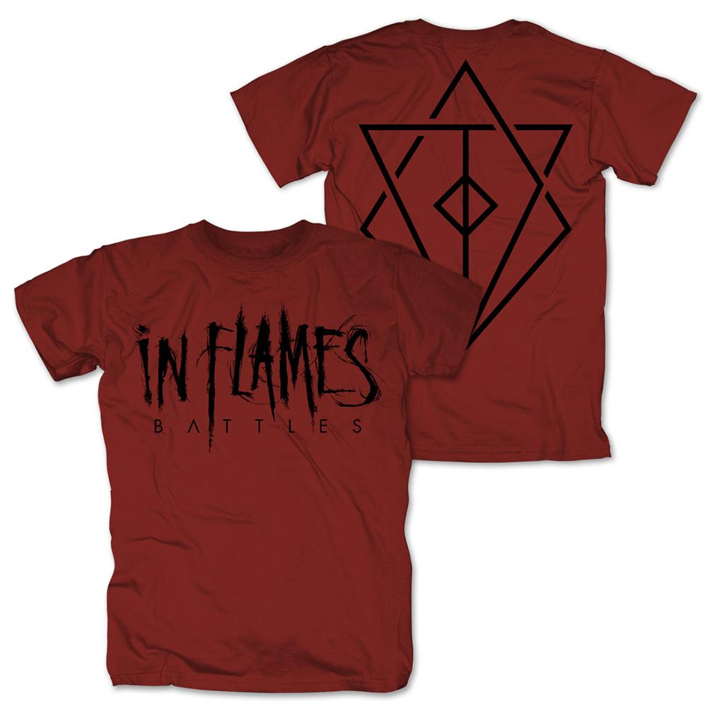 √Battles Logo von In Flames - T-Shirt jetzt im In Flames Shop