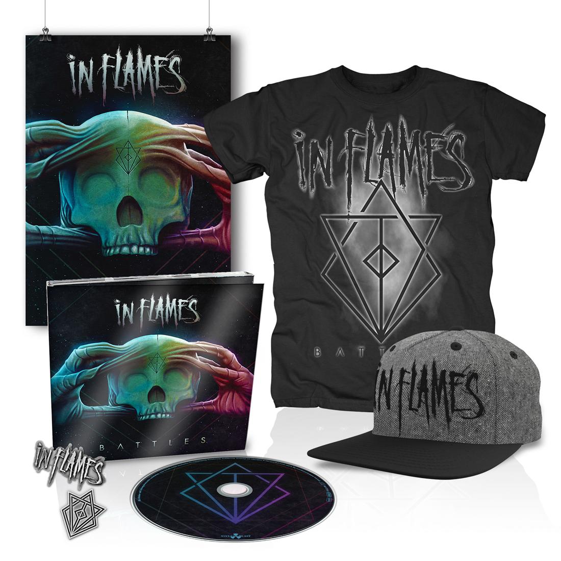 √Battles CD Bundle 1 von In Flames - Bundle jetzt im In Flames Shop