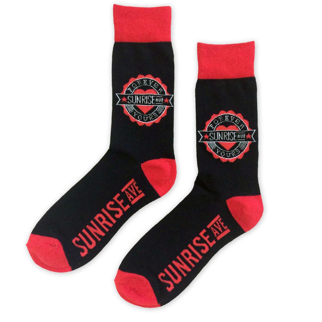 Forever Yours Emblem von Sunrise Avenue - Socken jetzt im Bravado Shop