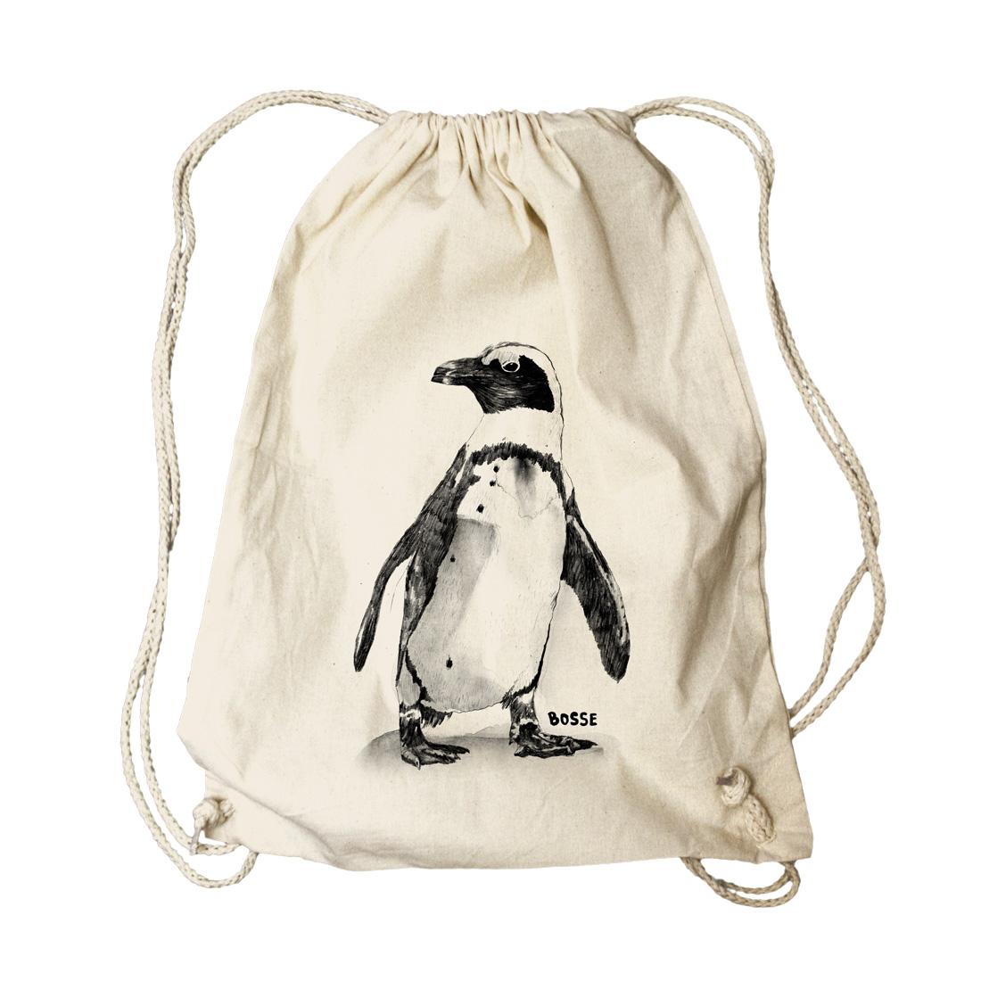 Pinguin von Bosse - Turnbeutel/Rucksack jetzt im Bravado Shop