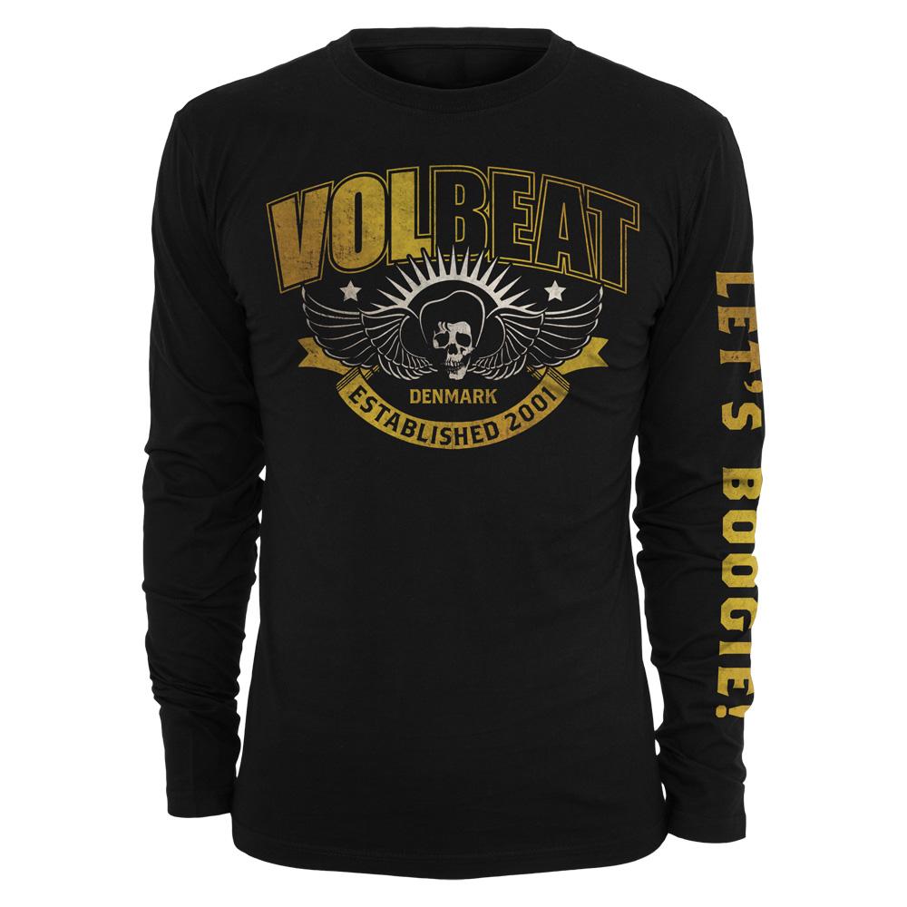 √Yellow Skullwing Ribbon von Volbeat - Longsleeve jetzt im Volbeat Shop