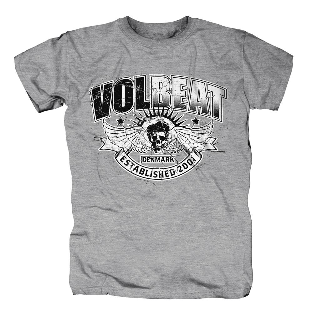 √Crashed Skullwing von Volbeat - T-Shirt jetzt im Volbeat Shop