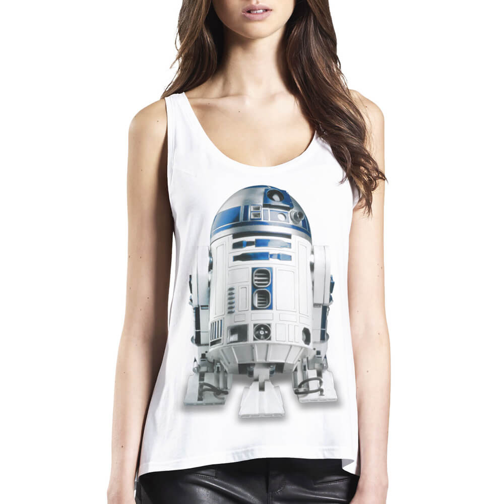 R2-D2 von Star Wars - Girlie Top jetzt im SuperTees Shop