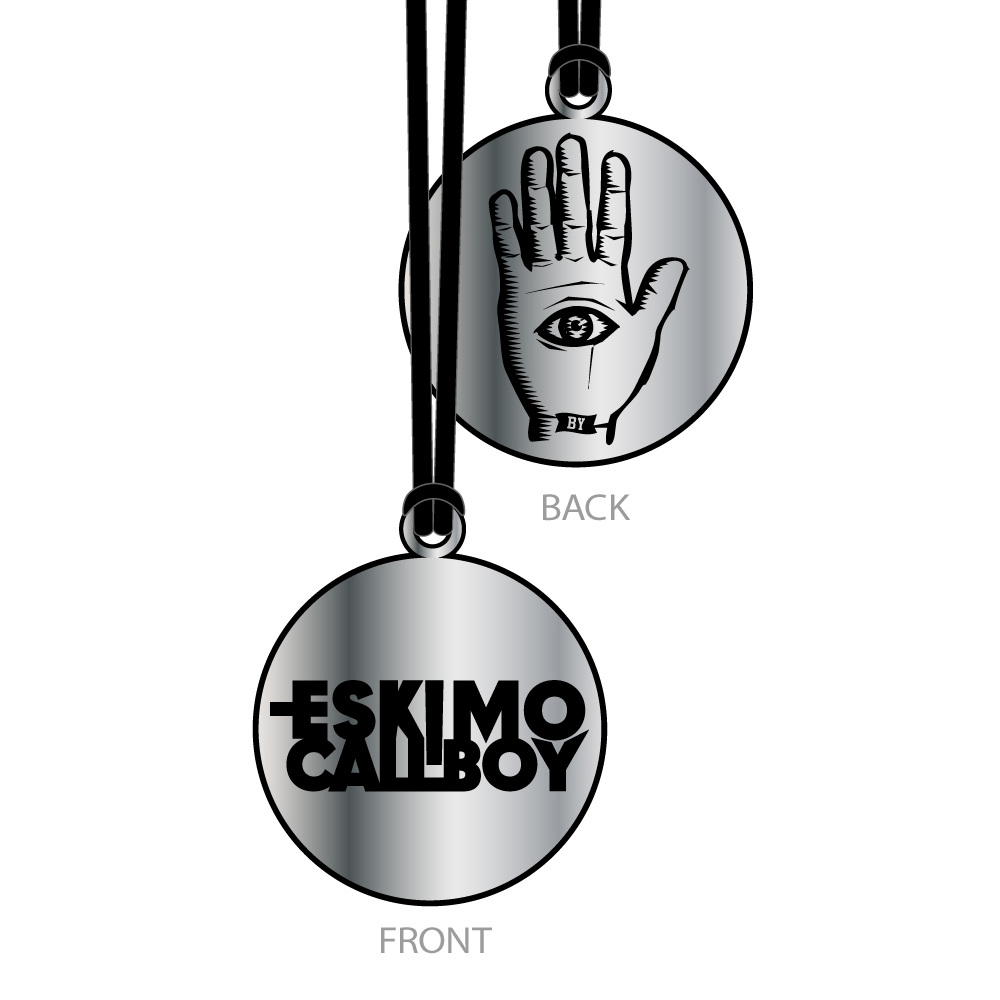 Eye and Hand Logo von Eskimo Callboy - Kette jetzt im Bravado Shop