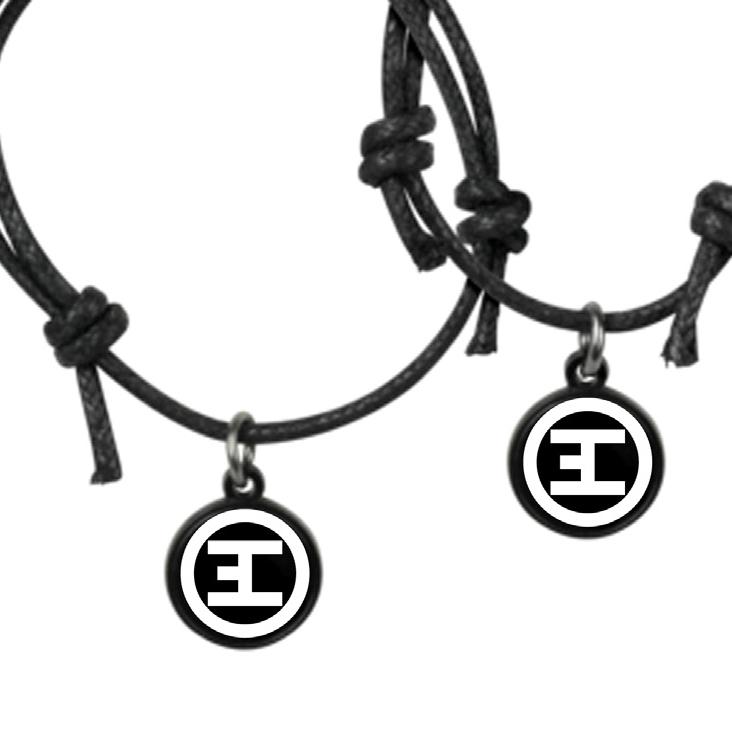 Black and White Logo von Eskimo Callboy - Freundschaftsband jetzt im Eskimo Callboy Shop