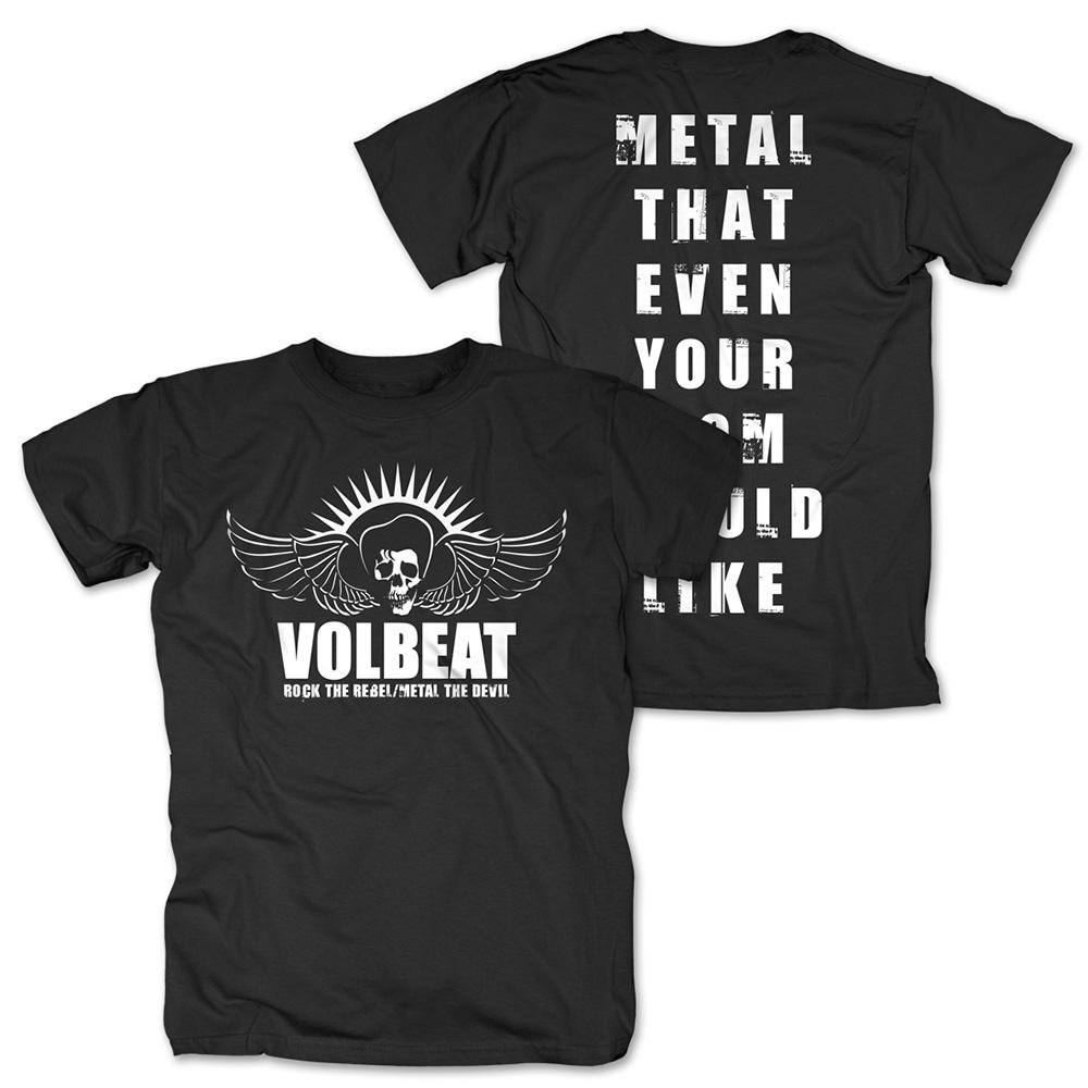 √Rock the Rebel - Metal the Devil white von Volbeat - T-Shirt jetzt im Volbeat Shop