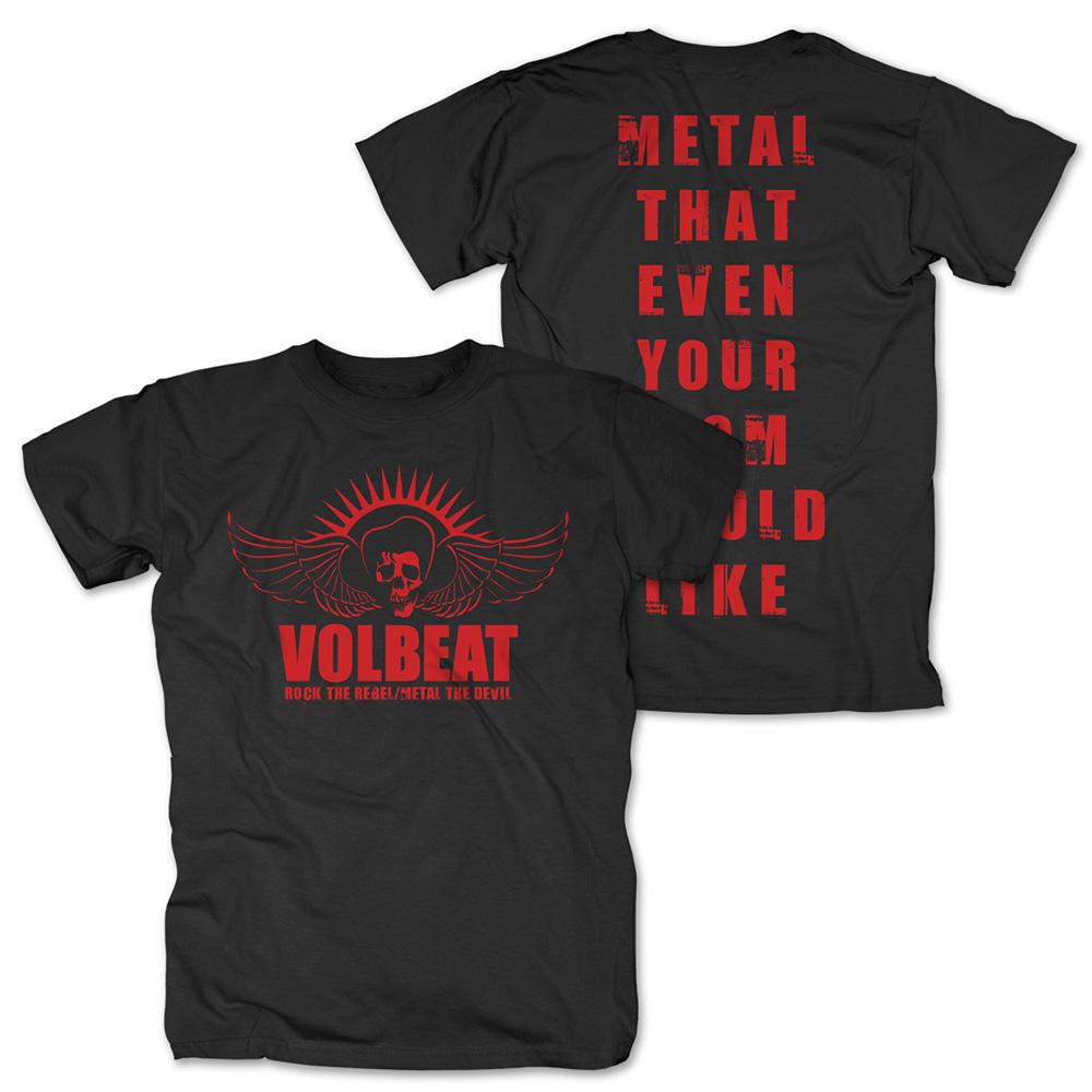 √Rock the Rebel - Metal the Devil Red von Volbeat - T-Shirt jetzt im Volbeat Shop