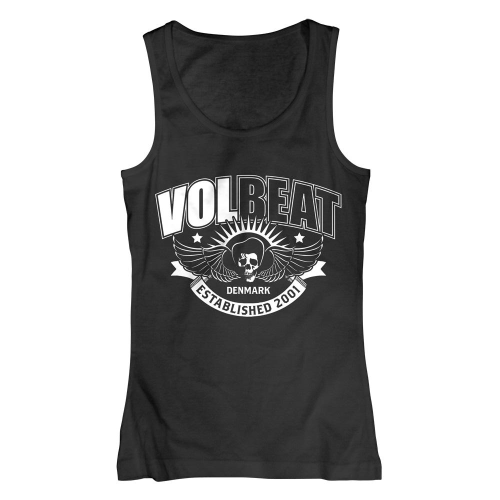 √Skullwing Ribbon von Volbeat - Girlie tank top jetzt im Volbeat Shop