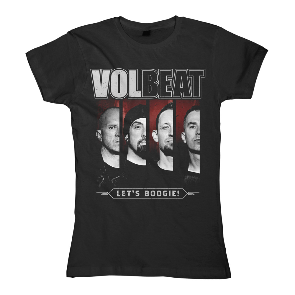 √Photo Slices von Volbeat - Girlie shirt jetzt im Volbeat Shop