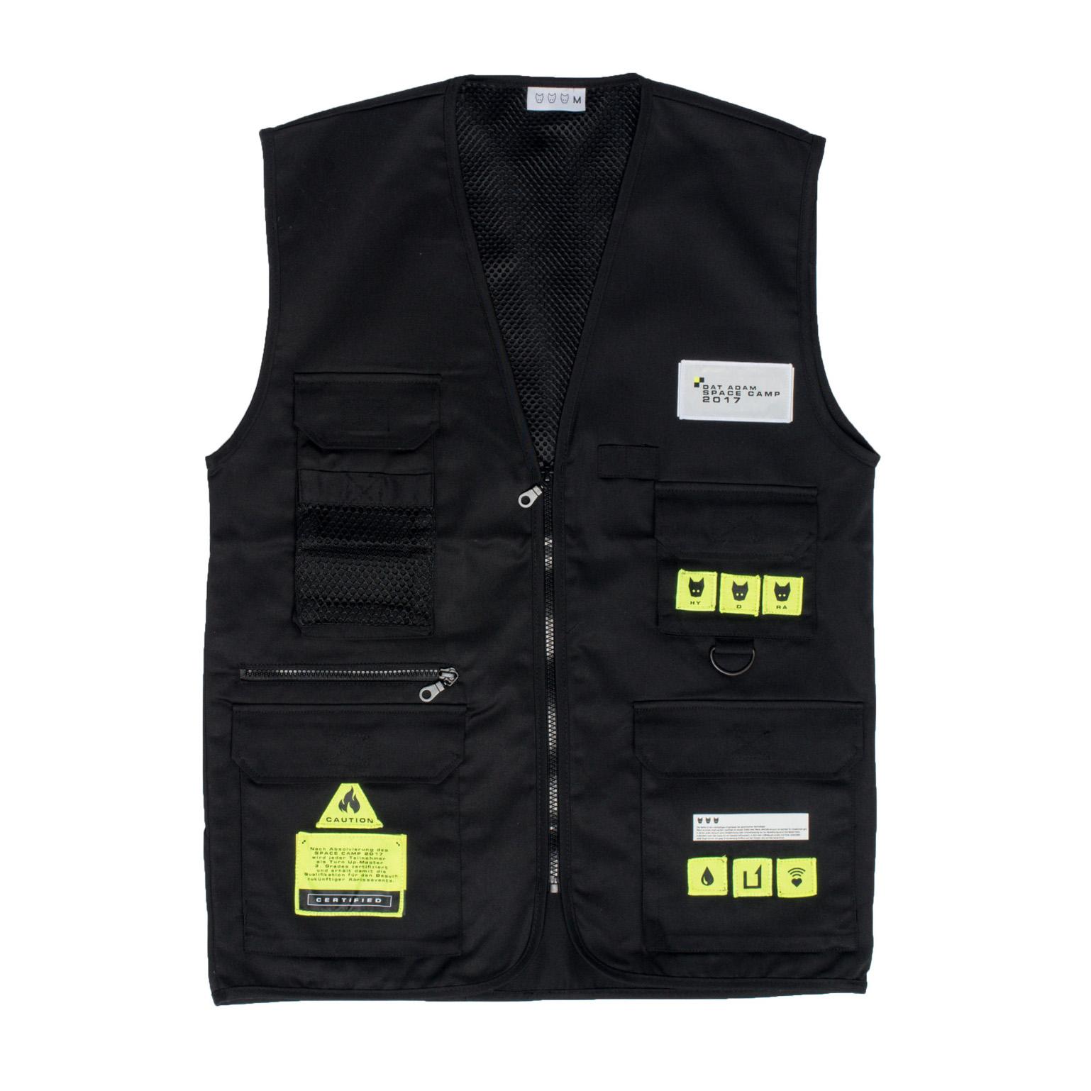 SPACECAMP 2017 Patched Vest von DAT ADAM - Weste jetzt im Dat Adam Shop