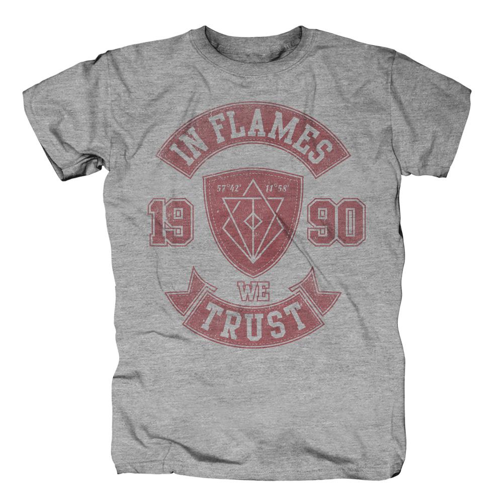 √We Trust College von In Flames - T-shirt jetzt im In Flames Shop