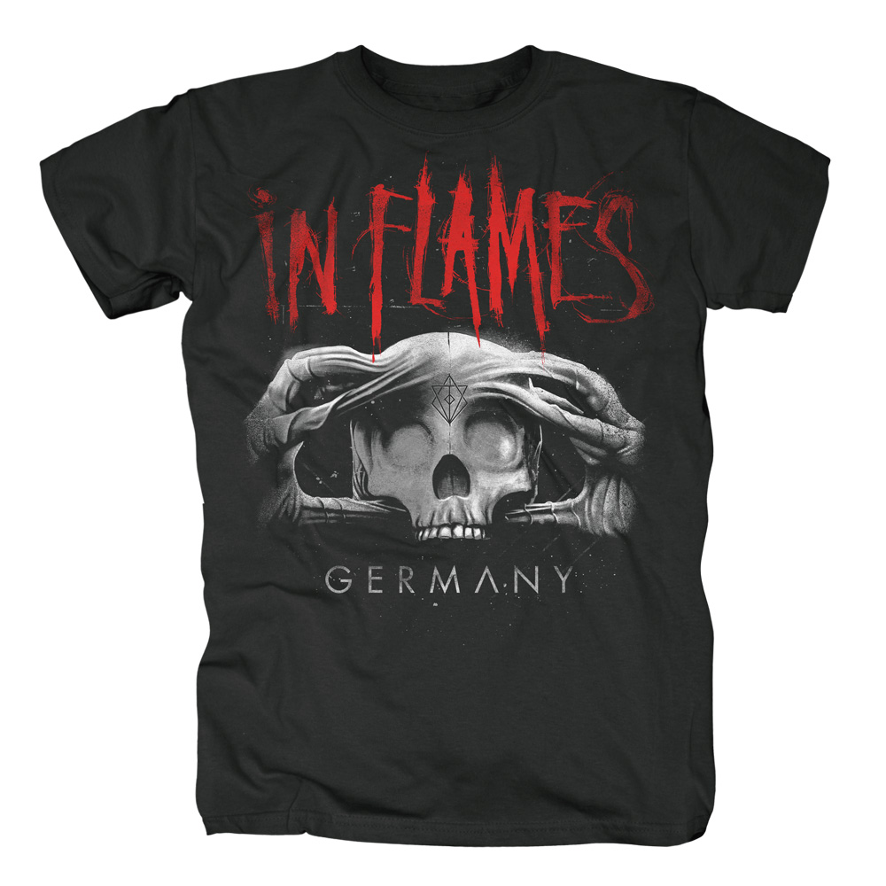 Skull Germany von In Flames - T-Shirt jetzt im Bravado Shop