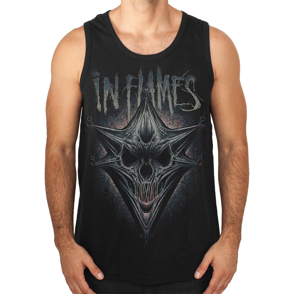 √Hooked Jesterhead von In Flames - Men's Tank Top jetzt im In Flames Shop