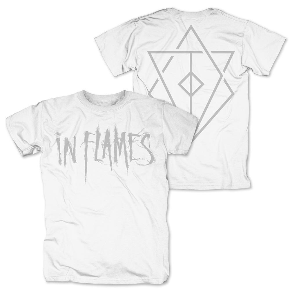 Logo white von In Flames - T-Shirt jetzt im Bravado Shop