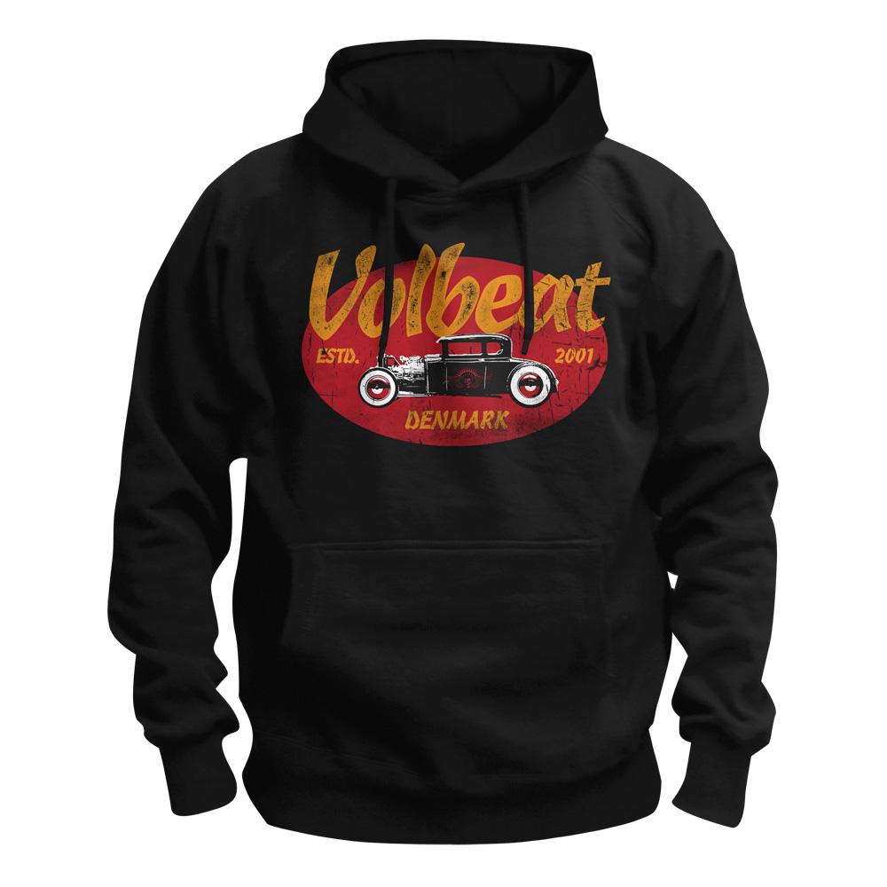 √Oval Car von Volbeat - Hood sweater jetzt im Volbeat Shop