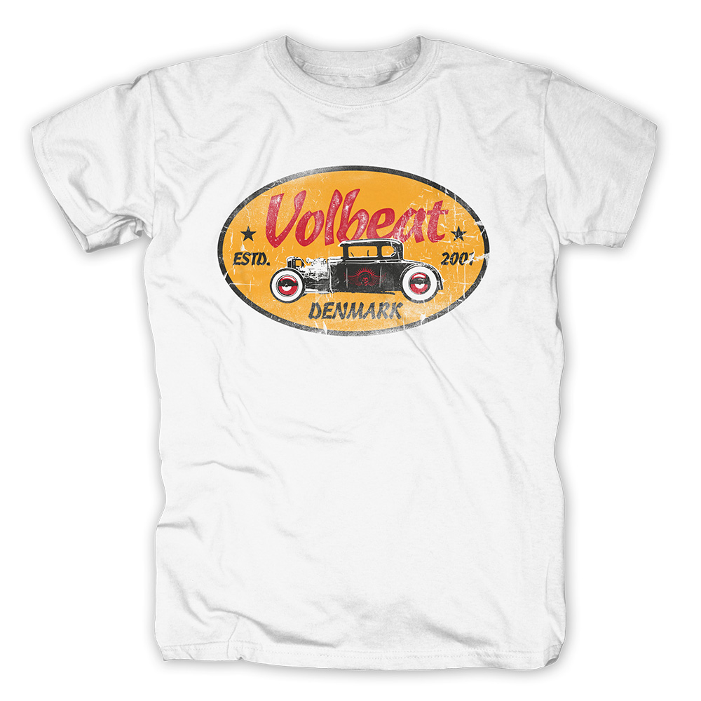 √Oval Car Badge von Volbeat - T-shirt jetzt im Volbeat Shop