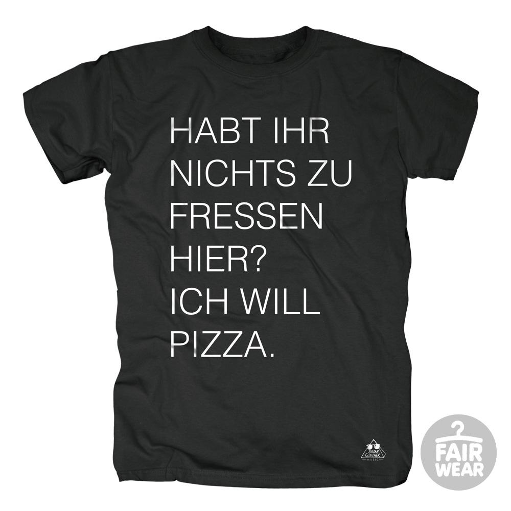 Ich will Pizza von Deichkind - T-Shirt jetzt im Deichkind Shop