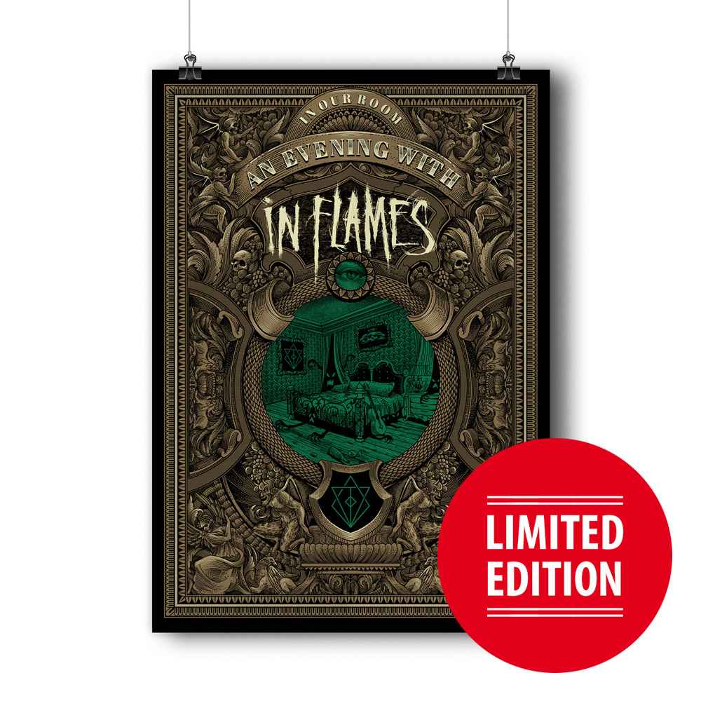 √In My Room - Limited Edition von In Flames - Siebdruckposter jetzt im In Flames Shop