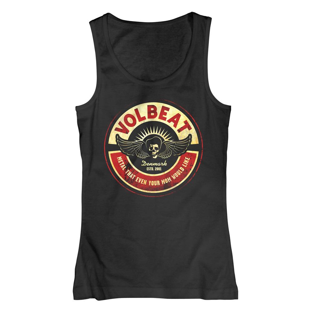 √Circle Mom von Volbeat - Girlie Tank Top jetzt im Volbeat Shop