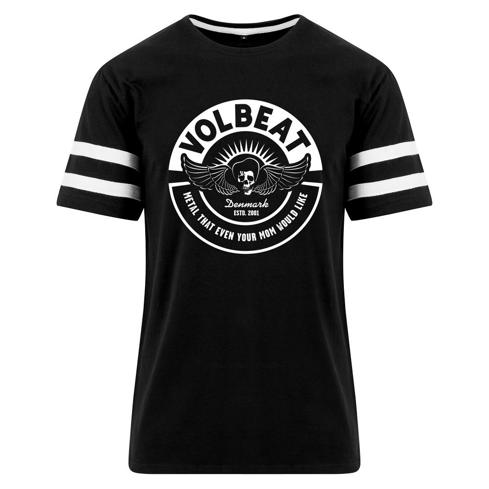 √Circle Mom Stripe Tee von Volbeat - T-Shirt jetzt im Volbeat Shop