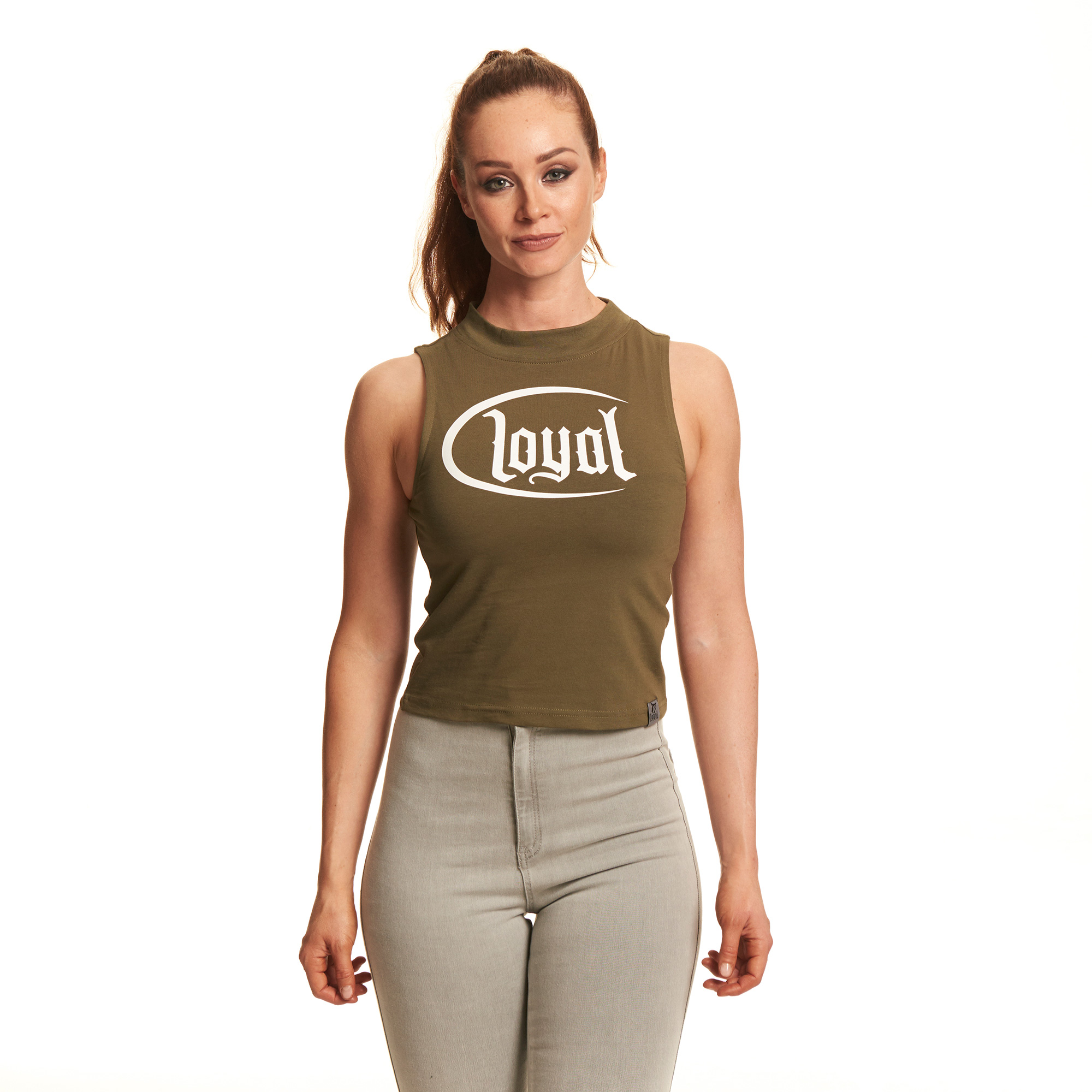 Loyal Circle White von Kontra K - Crop Top jetzt im Loyal Shop