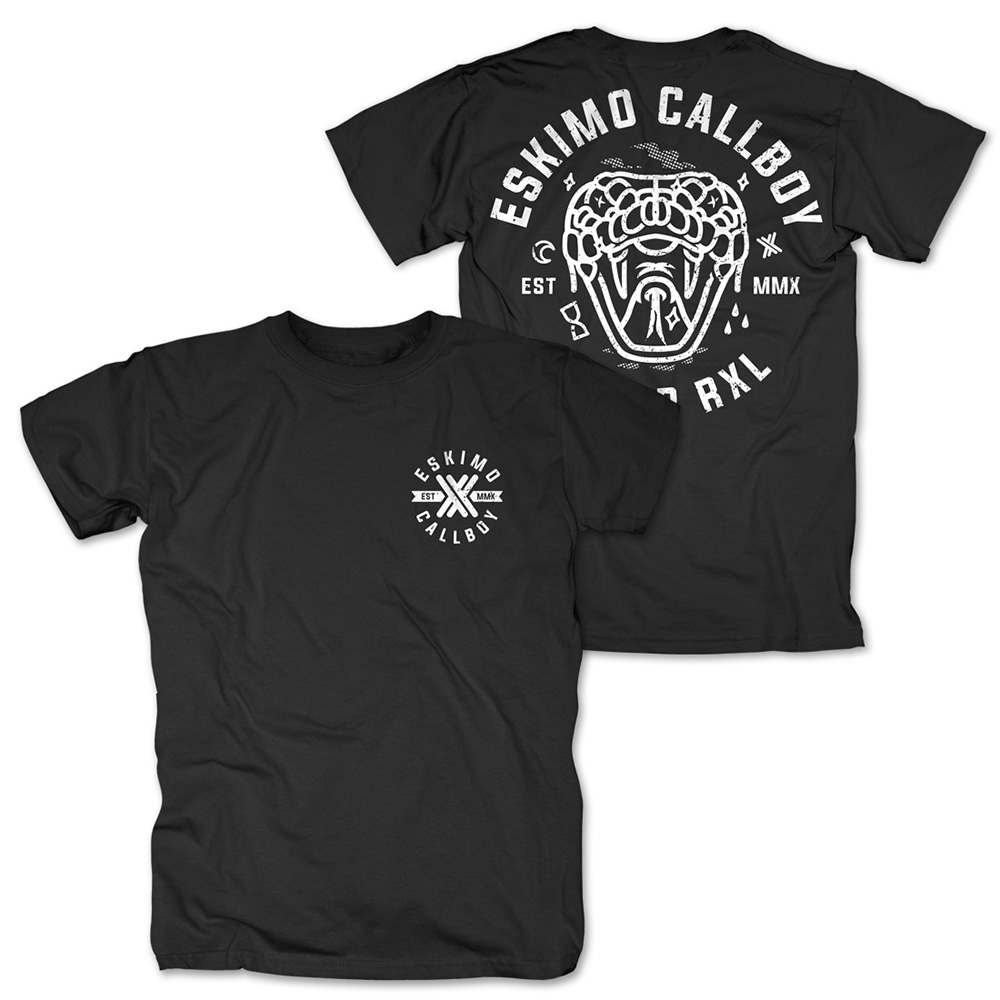 Dead Snake von Eskimo Callboy - T-Shirt jetzt im Eskimo Callboy Shop