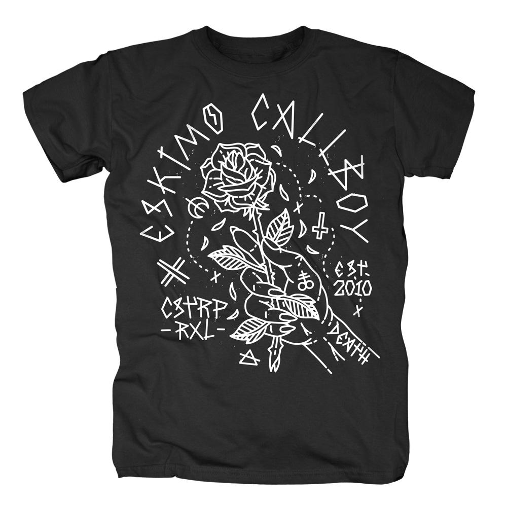 Rose Hand von Eskimo Callboy - T-Shirt jetzt im Bravado Shop